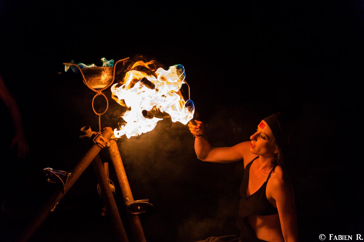 Flammes colorées 2