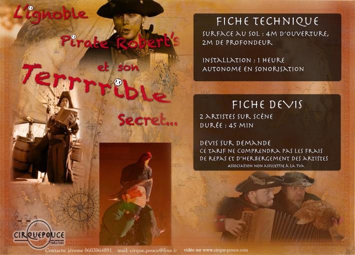 L'Ignoble Pirate Robert's